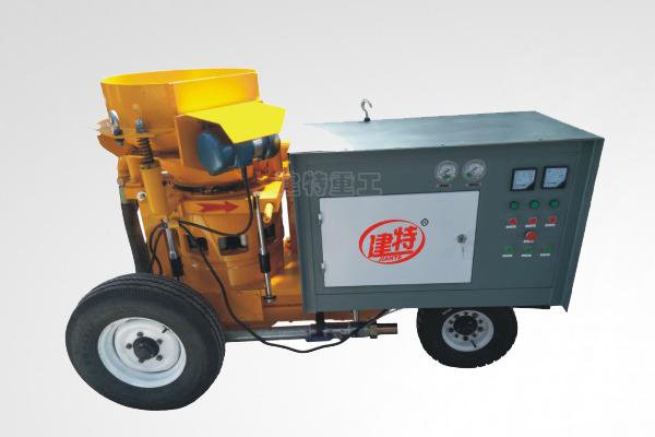 建特TK700湿式喷浆机性能特点及工作原理